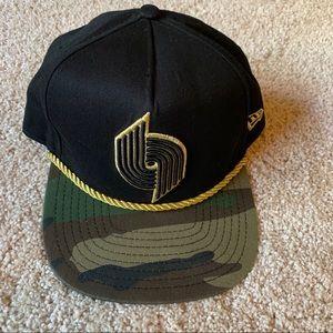 New Era Camo Portland Trailblazers SnapBack Hat